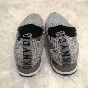 Gray DKNY sneakers